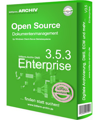 Open Source document management system enterprise version